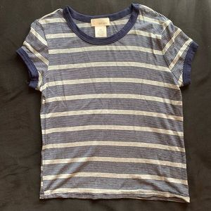 Basic striped tee from wet seal